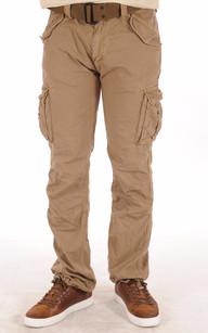 Pantalon Cargo Tabac1