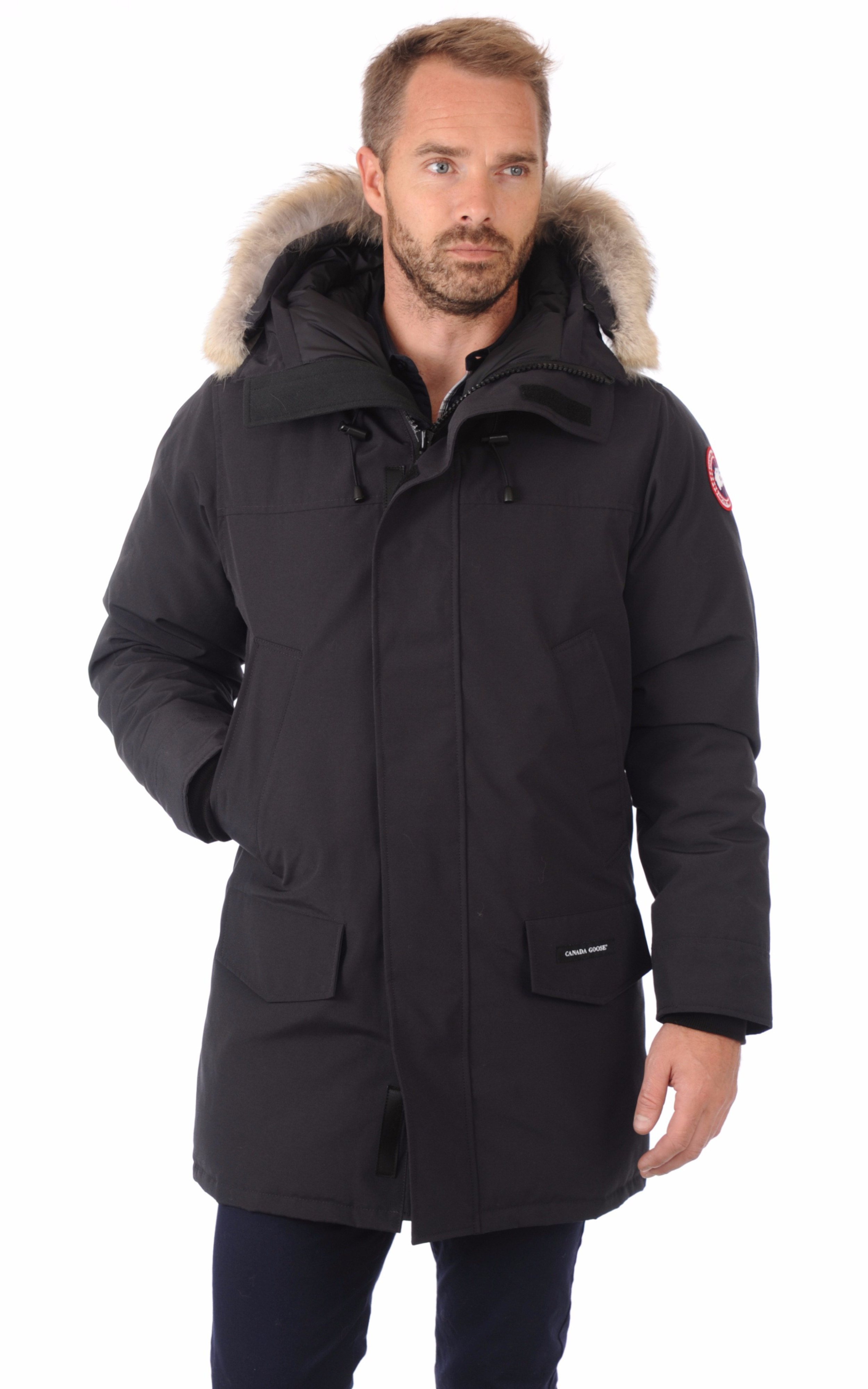 parka langford navy canada goose la canadienne. Black Bedroom Furniture Sets. Home Design Ideas