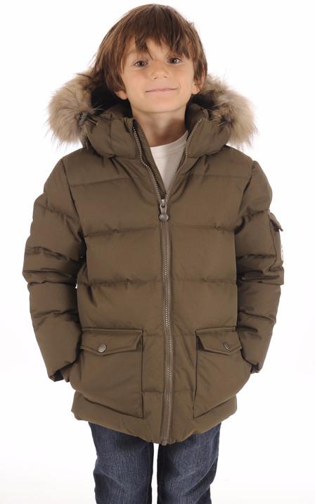 Doudoune Authentic Jacket Boy Kaki 9d5c2cdab92