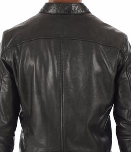 Blouson Gafino en cuir noir Daytona 73