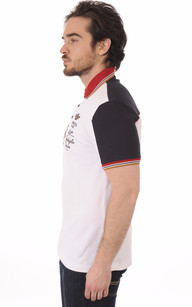 Polo Blanc Patchs1