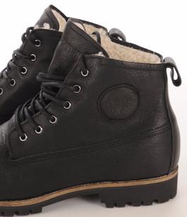 Boots Cuir Fourrées Mouton Blackstone