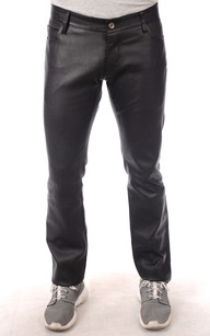 Pantalon Cuir Stretch Homme1