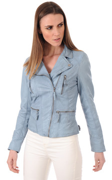 Blouson Camera Light Bleu Ciel1
