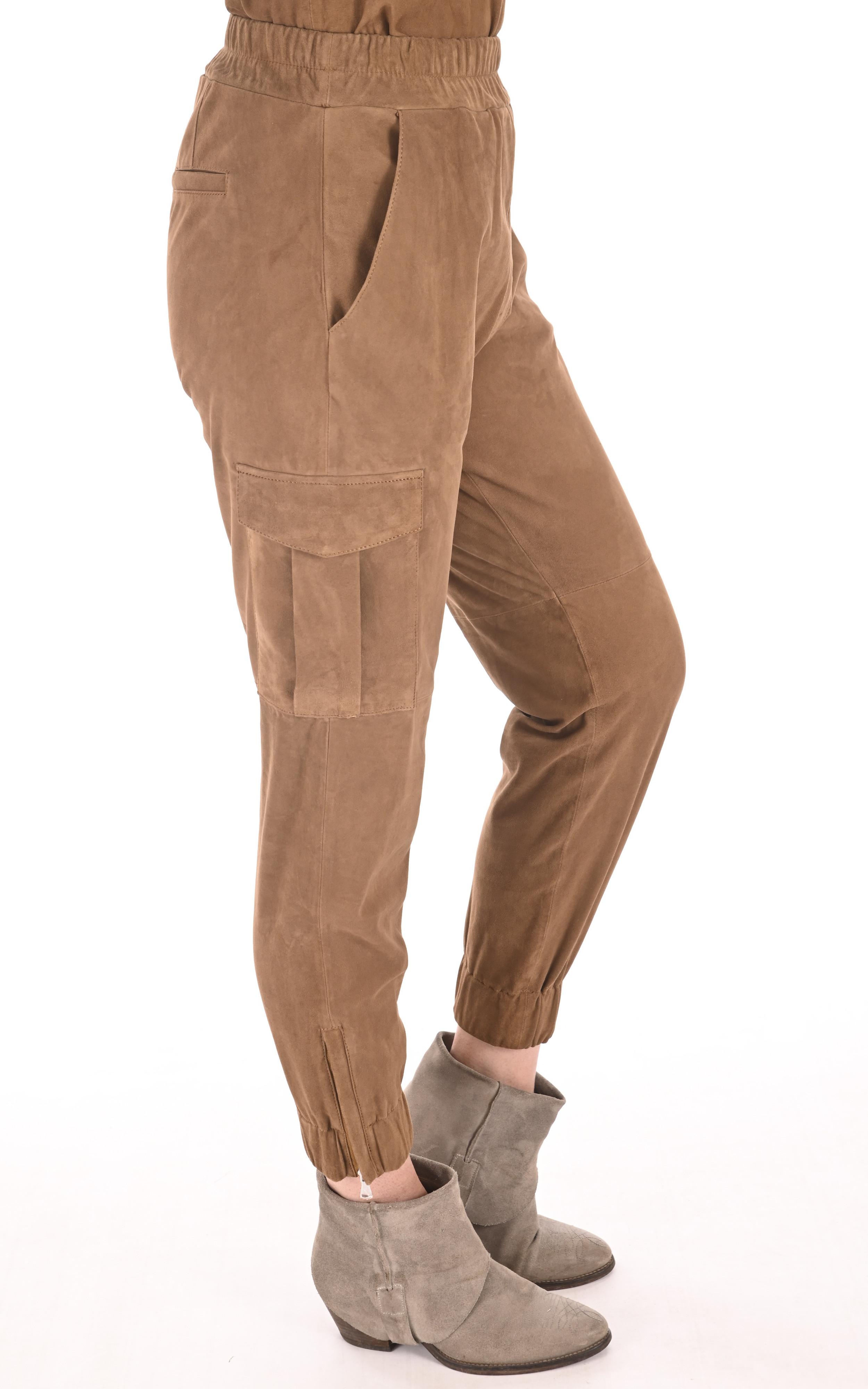 Pantalon Cargo velours cognac Oakwood