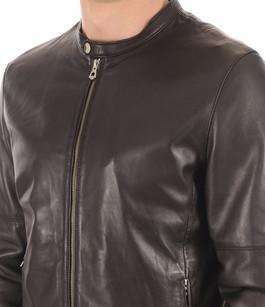 Blouson Cuir Homme Noir Daytona 73