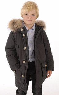 ARTIC PARKA Anthracite Enfant1