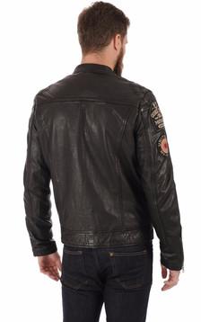 Blouson motard Lcspyder noir