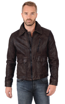 Blouson Bentley Marron