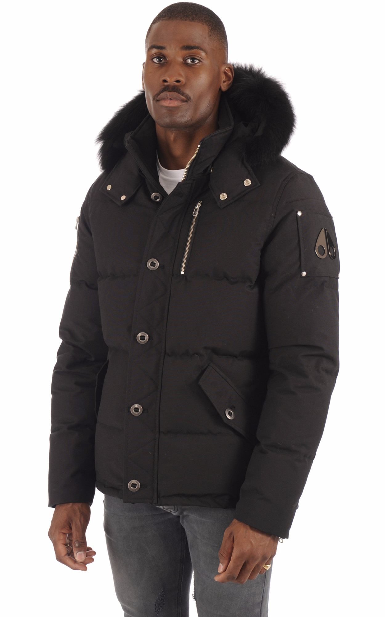 Doudoune M3Q JACKET Black1