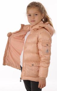 Doudoune Authentic Jacket Rose Poudré Fille