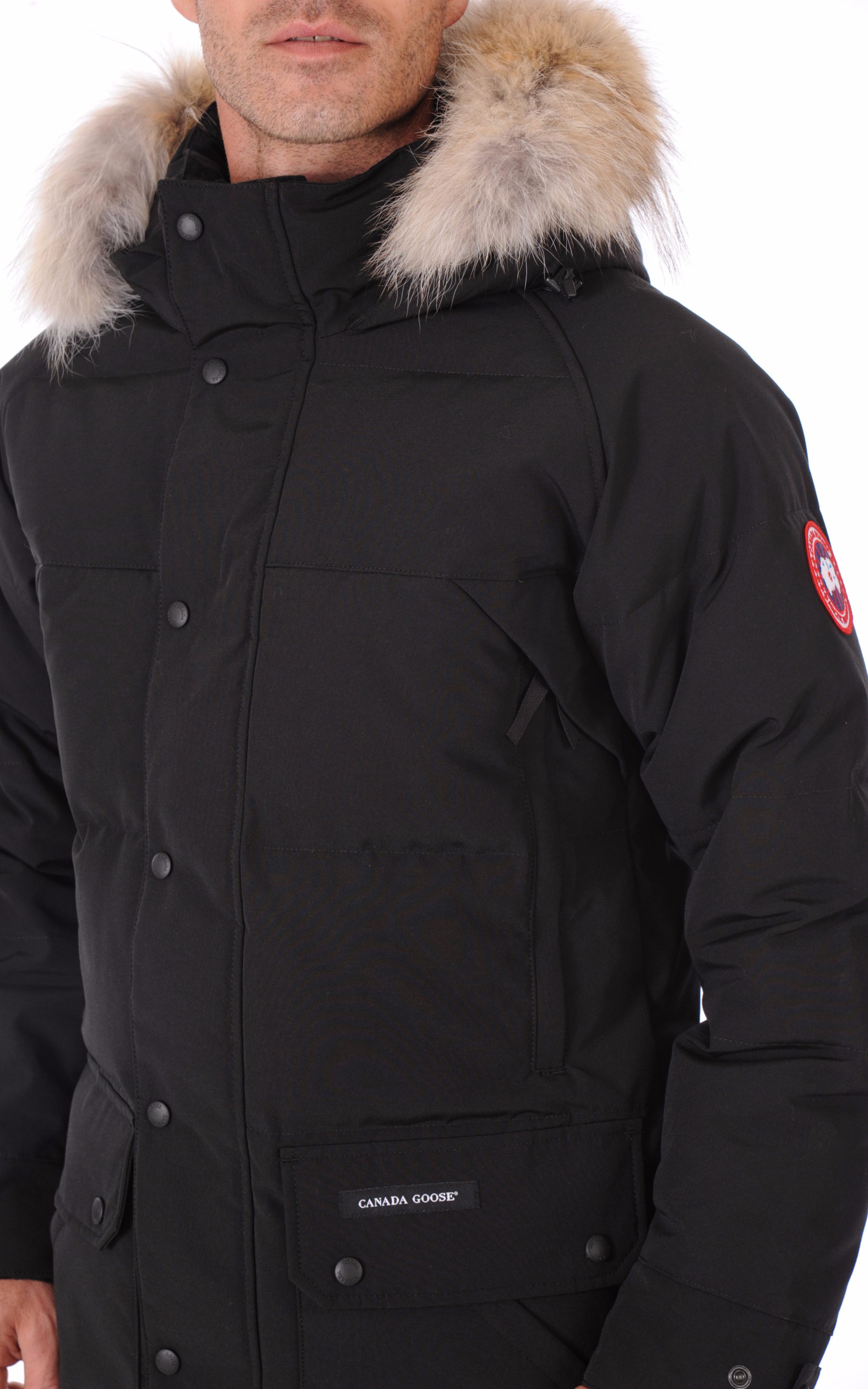Parka Emory noire Canada Goose