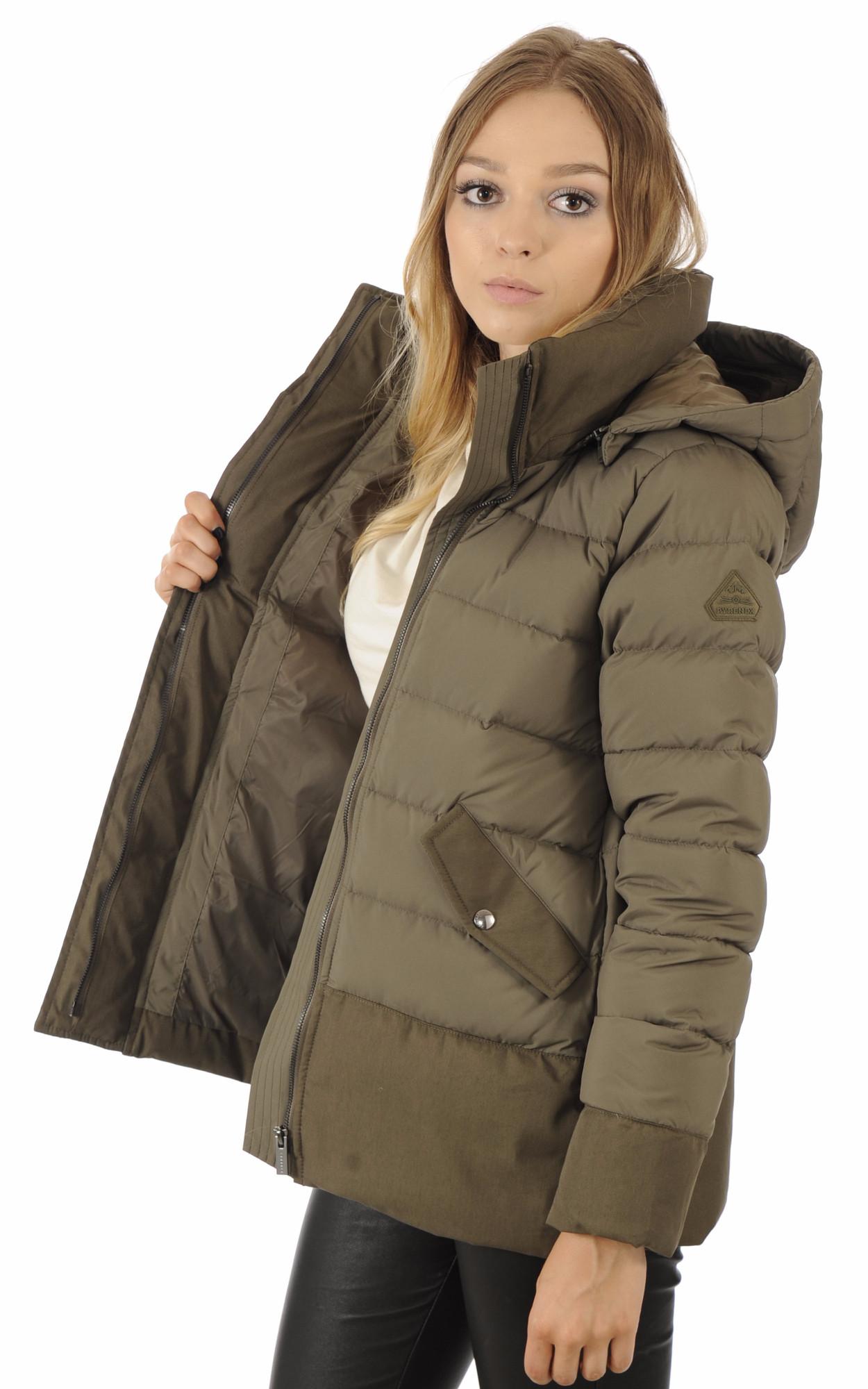 Doudoune Halny Jacket Kaki1