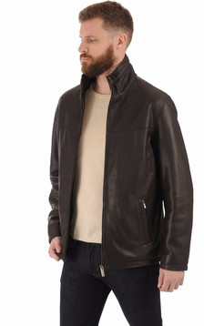 Surveste confortable cuir noir1