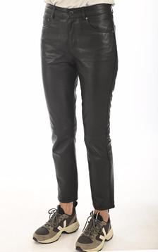 Pantalon agneau Clarissa noir