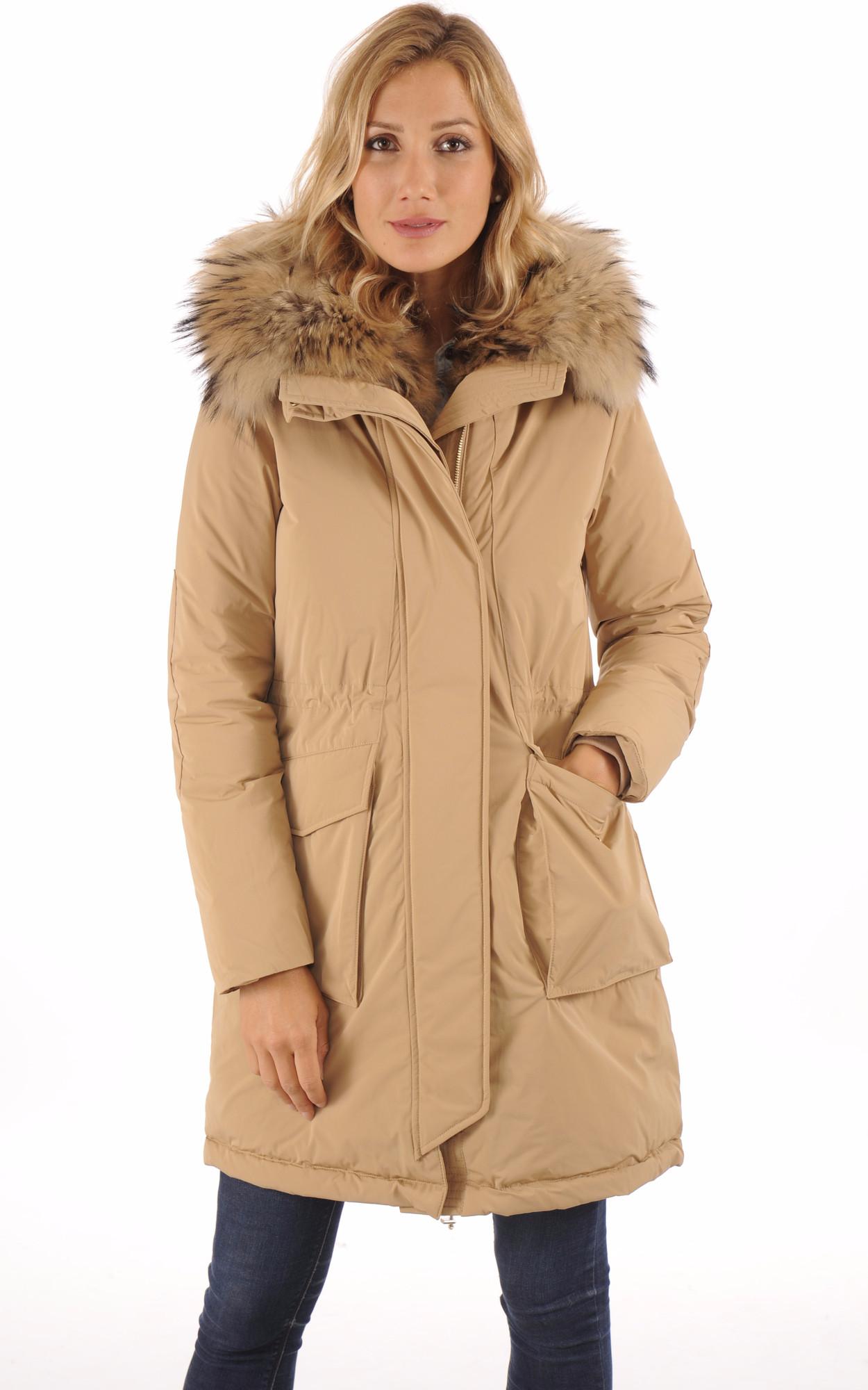 Parka WS Military Camel pour Femme1