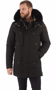 Parka CORNER BOOK Black-Gold