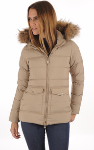 Doudoune Authentic Jacket Beige1