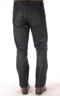 Pantalon Cuir Nubuck Homme