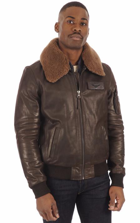 Redskins Homme   Blouson cuir, veste en cuir Redskins pour homme 39e799c7c4cb