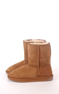 Boots Mouton Mérinos Femme
