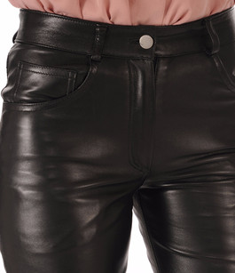 Pantalon Cuir Coupe 501 La Canadienne