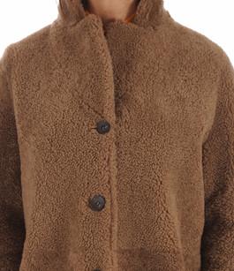 Veste Réversible Mérinos Camel La Canadienne