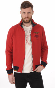 Sweat Zippé Rouge Comando Squadra Aerea