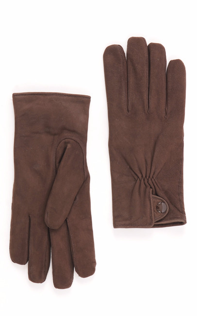 Gants Agneau Marron Georges Morand