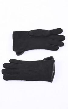 Gants mérinos noir