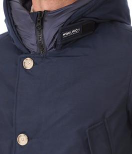 Parka Bleue Marine Pour Homme Woolrich