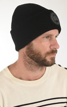Bonnet thermique noir