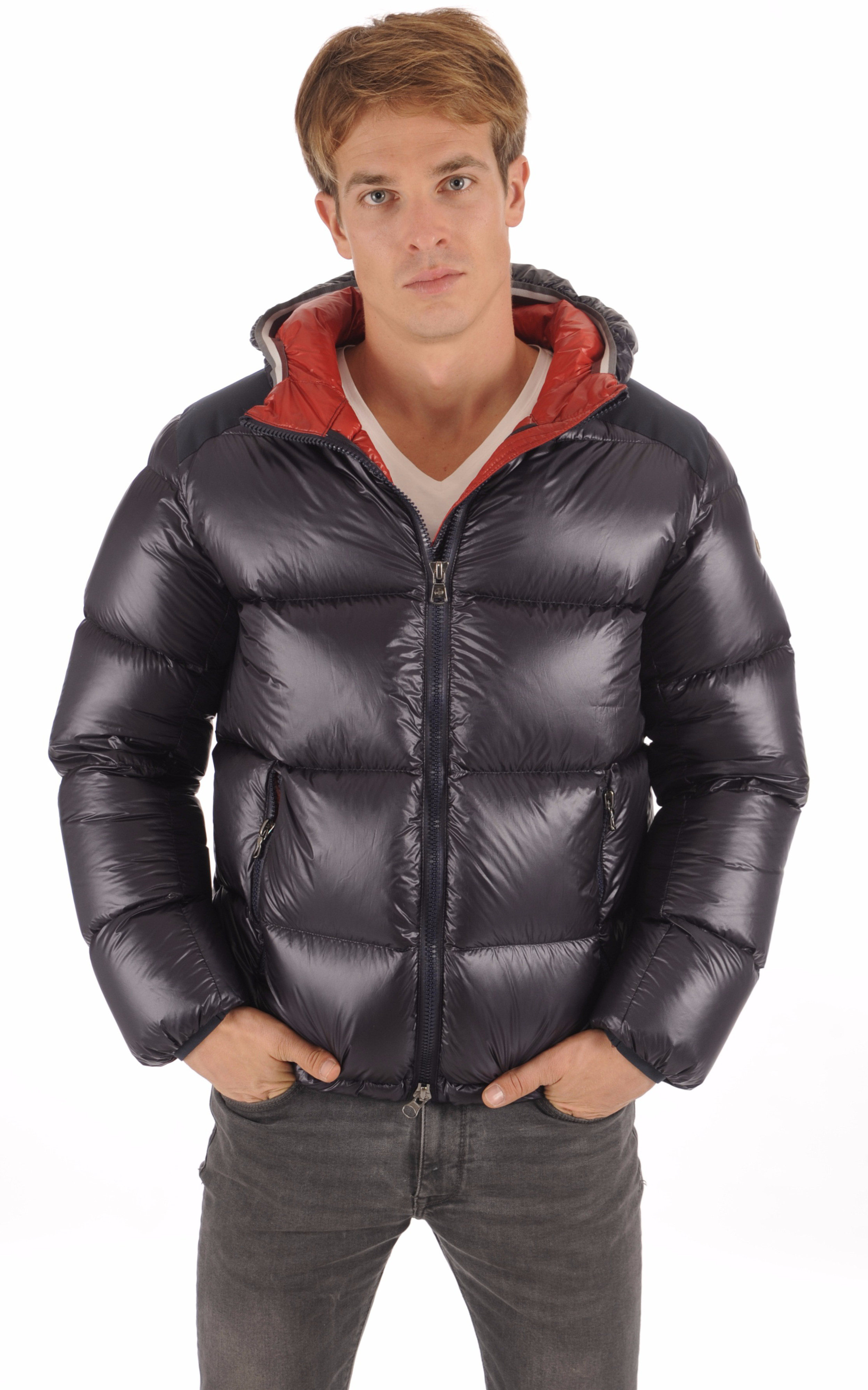 Doudoune 1238 Marine Textile Homme Colmar