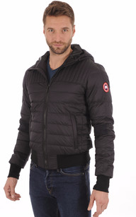 Doudoune Cabri Hoody Black Waterproof1