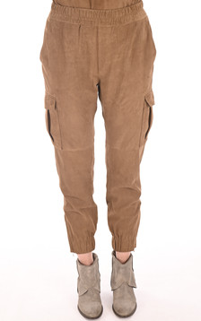 Pantalon Cargo velours cognac