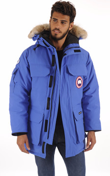 Parka Expedition PBI bleu BPI