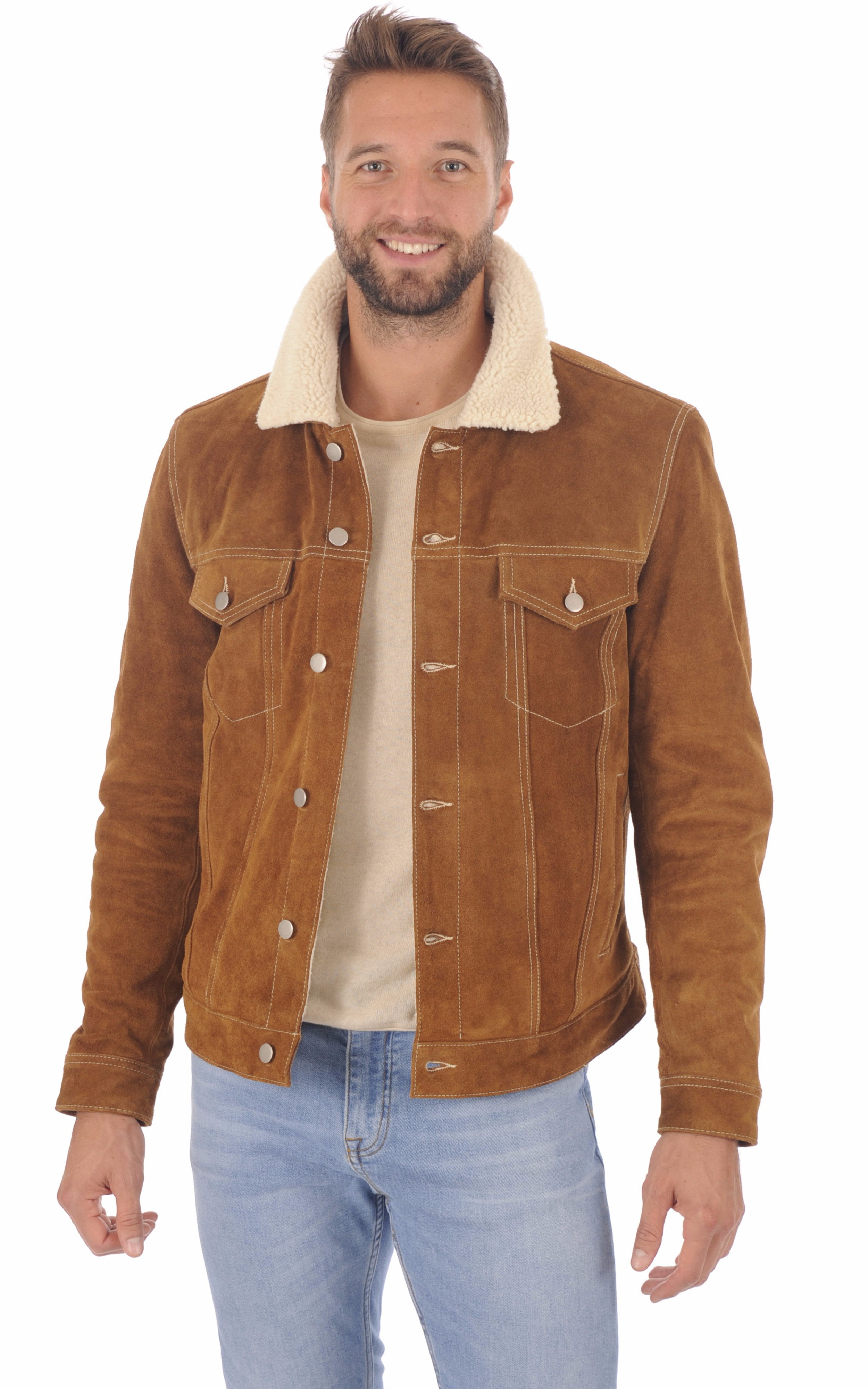 Veste Retro Homme Style Jean Daytona 73