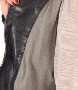 Blouson Cuir Noir Style Perfecto Oakwood