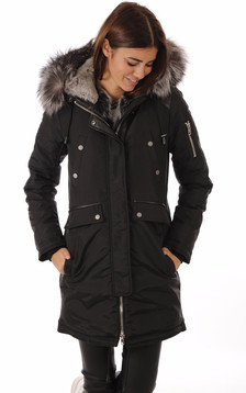Parka MADISON Black-Silver Fox1