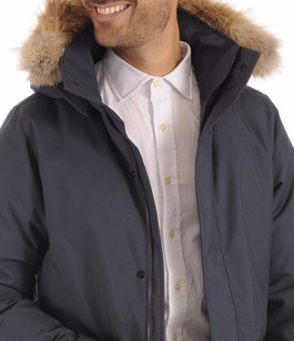 Parka Homme CHAMPLAIN Navy Quartz Co