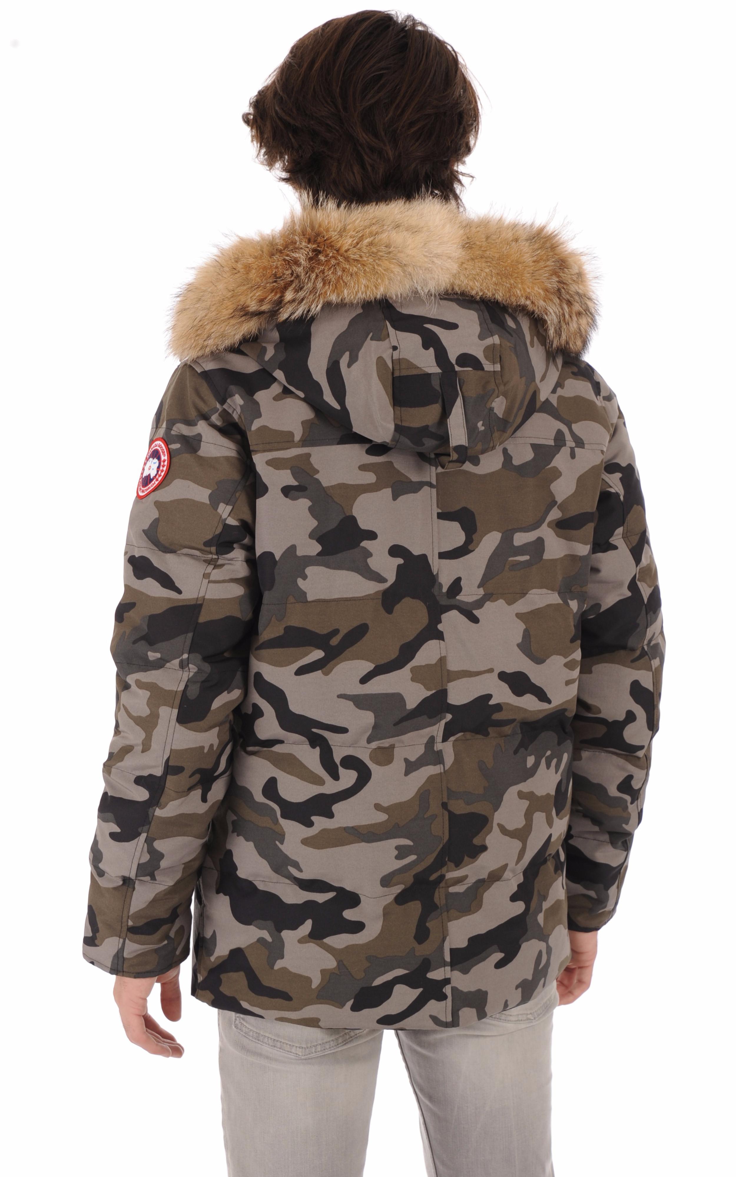 Parka Wyndham camouflage Canada Goose