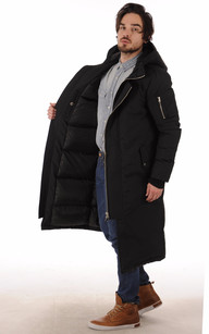 Parka Ultra-Longue Tower Black