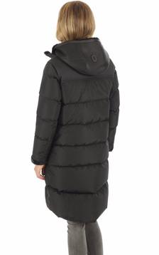 Doudoune longue Luisa noire