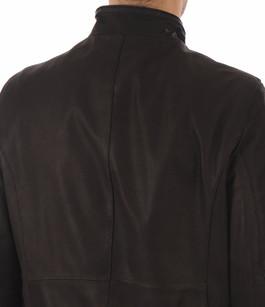 Blouson Cuir Noir Coupe Confortable Smarty