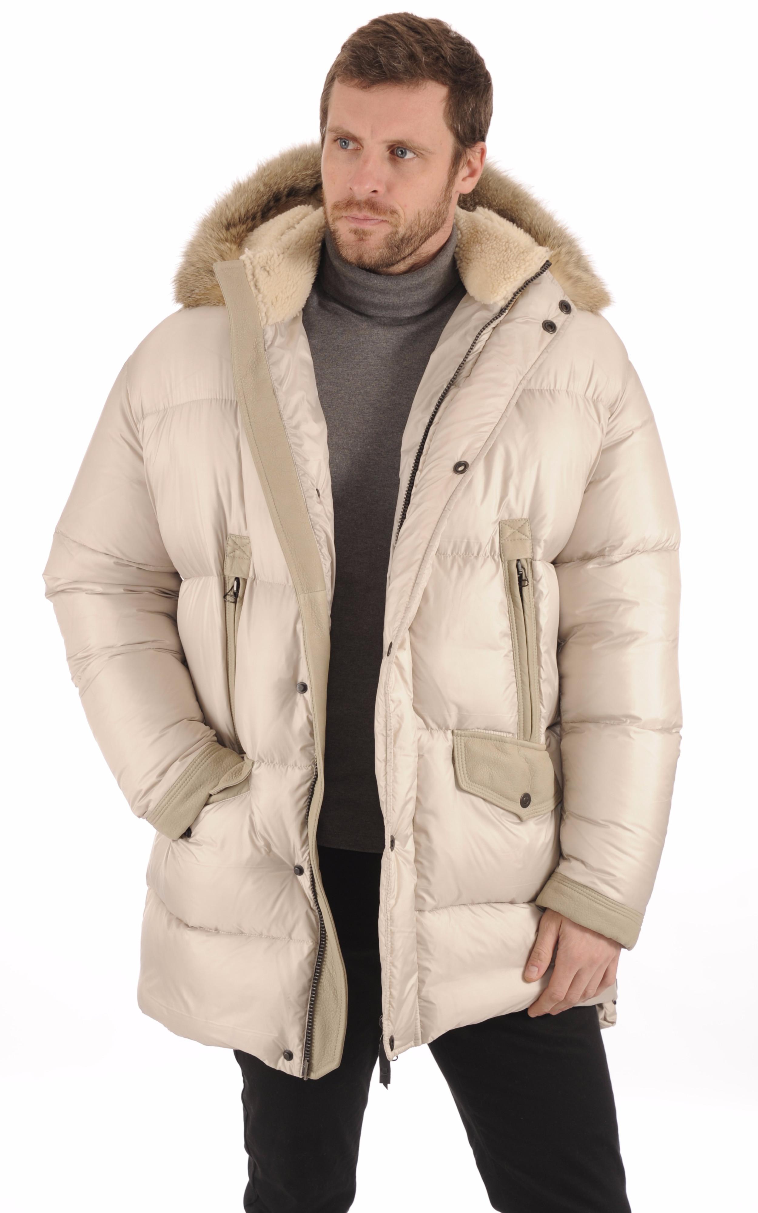 3/4 Doudoune Textile Homme La Canadienne