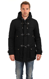 Duffle Coat Warren Noir