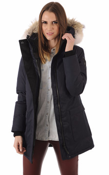 Parka Carla Bleu Marine1
