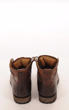 Boots Cuir Marron Vieilli Mouton