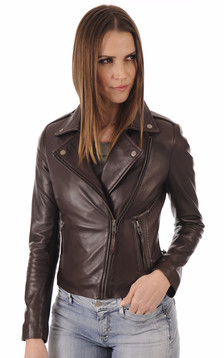 Blouson City Girl Wine1