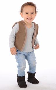 Boots Cuir Enfant